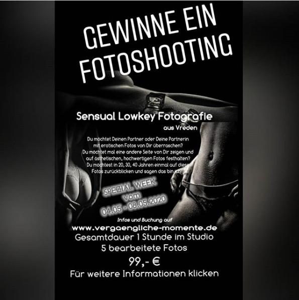 Gewinnspiel – Fotoshooting auf Instagram gewinnen